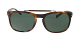 Burberry BE4244F 362271 Matte Light Havana Rectangular Sunglasses