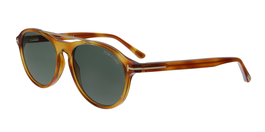 6e0063dcbe Tom Ford FT0556 53N Cameron Blonde Havana Aviator Sunglasses ...