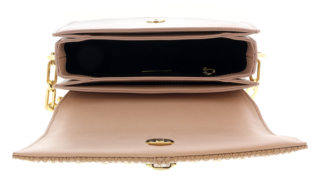 Roberto Cavalli HXLPHA 020 Nude Shoulder Bag