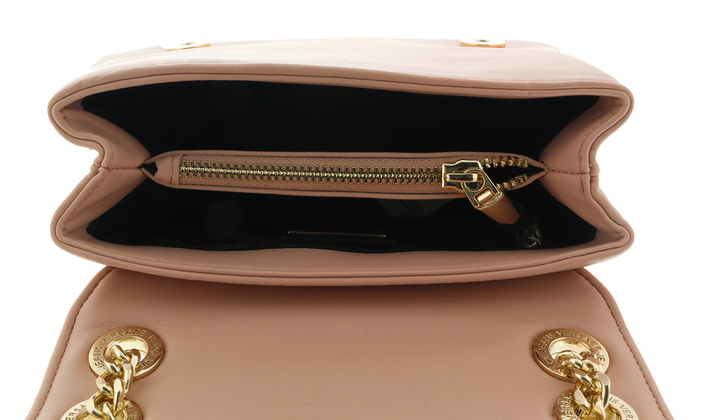 Versace Light Pink Compact Shoulder Bag-EE1VTBBM4 E400