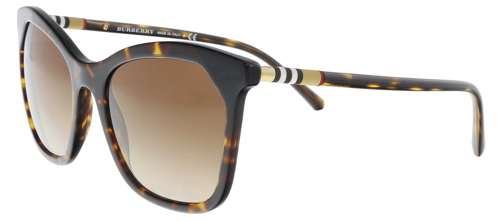 Burberry  Dark Havana/ Black Butterfly Sunglasses