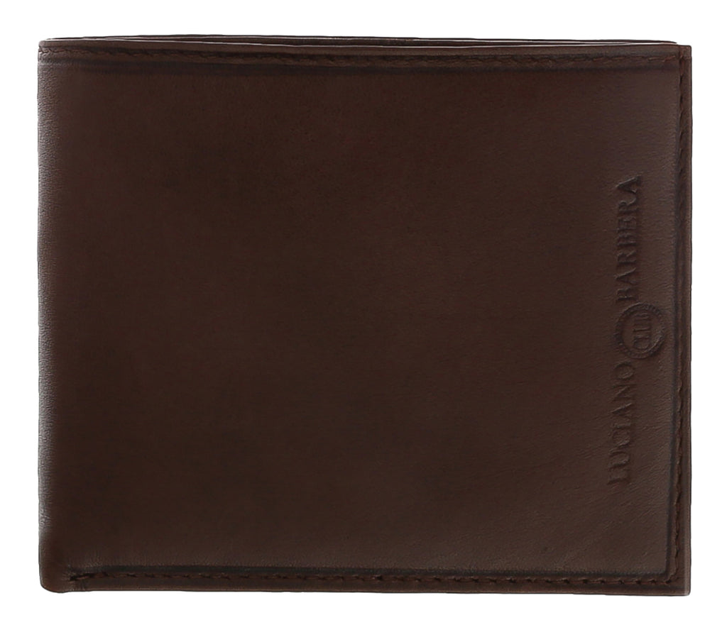 Luciano Barbera  Brown Leather Wallet
