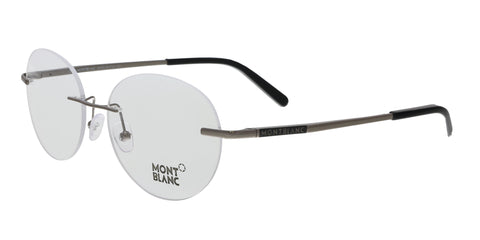 Montblanc MB0431 001 Gold Rectangular Opticals
