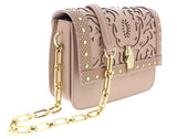 Roberto Cavalli  Nude Shoulder Bag