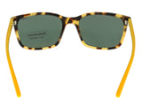 Ralph Lauren PH4103 554871 Havana/Yellow Rectangle Sunglasses
