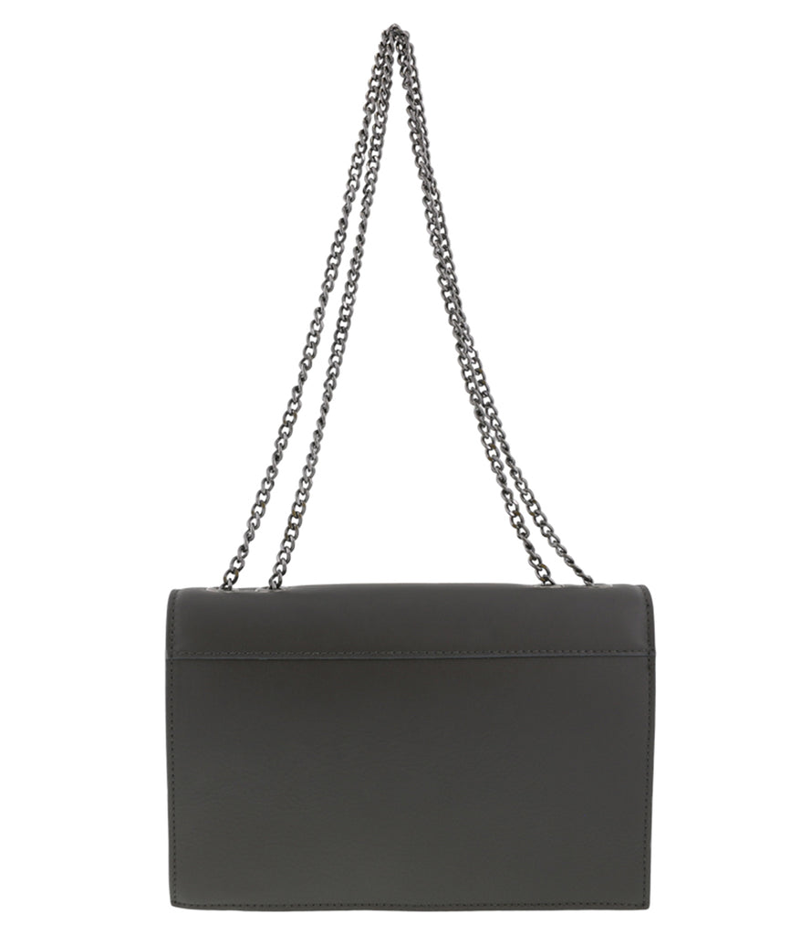 HS Collection HS1290 GGGU GARA Grey Shoulder Bag