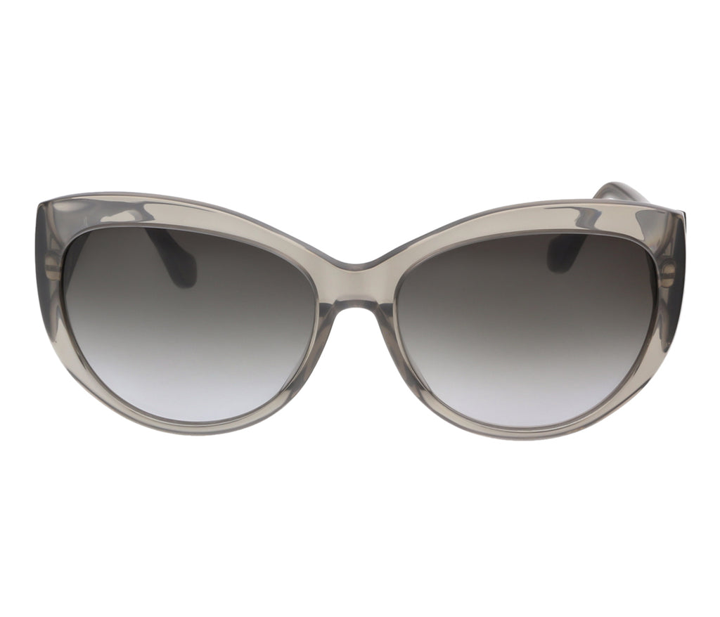 Balenciaga BA0023 20B Clear Gray Oval Sunglasses - [product_Vendor] - Bellaochio