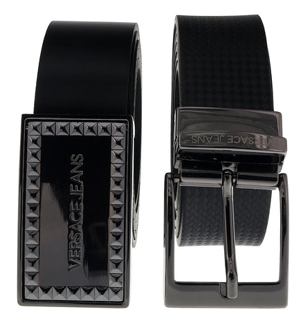 Versace EE3YSBPB4 EMAG Black/Navy Card Holder