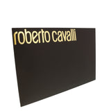 Roberto Cavalli C3S07D120 230 Gray Animal Print Shawl