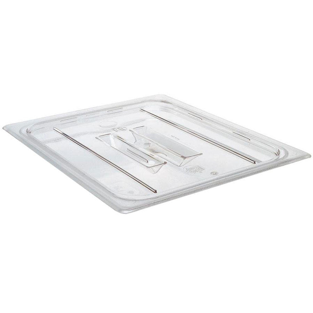 Food Pan Cover, Third-Size, Clear, Flat
