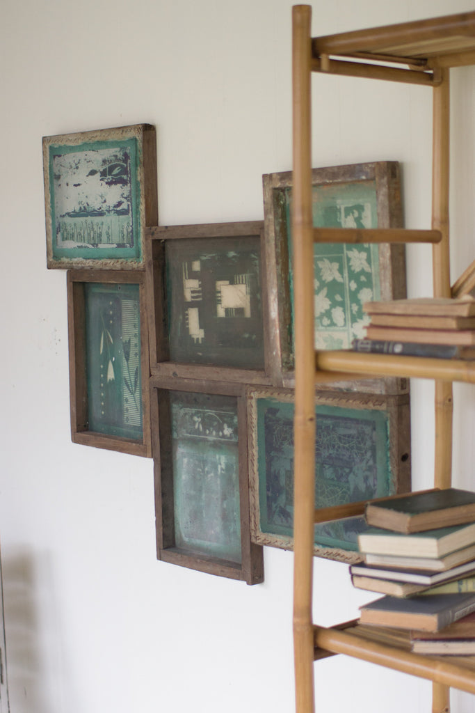 RECLAIMED SCREEN PRINT FRAMES