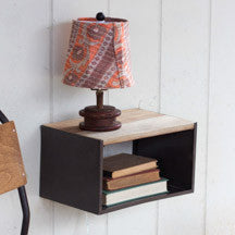 Table Shelf With Wooden Top (POS Terminal Shelf)