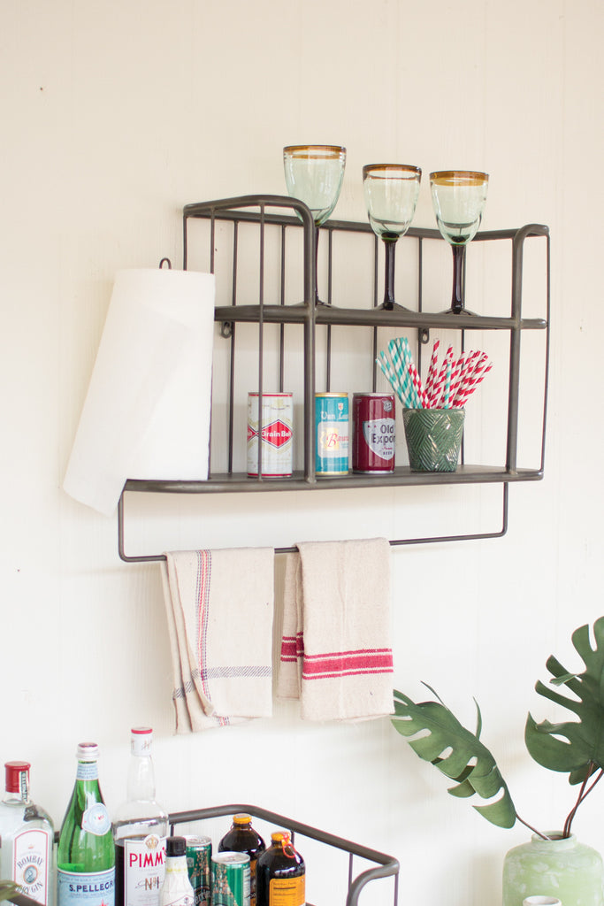 METAL BATHROOM/ KITCHEN SHELVING UNIT