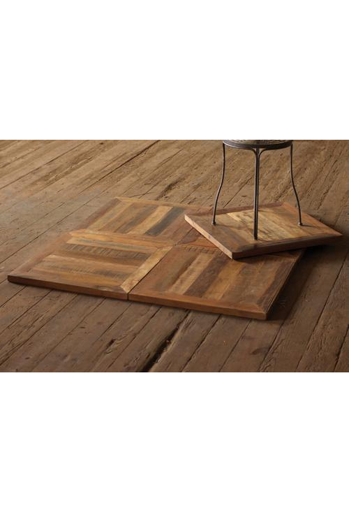 RECYCLED TEAK FLOORING