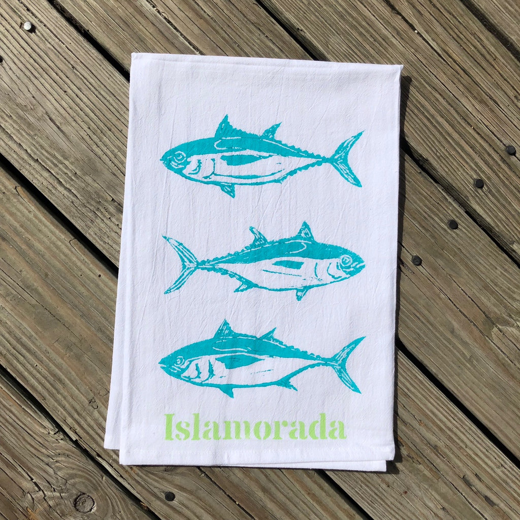 Islamorada Tea Towel - Triple Tuna