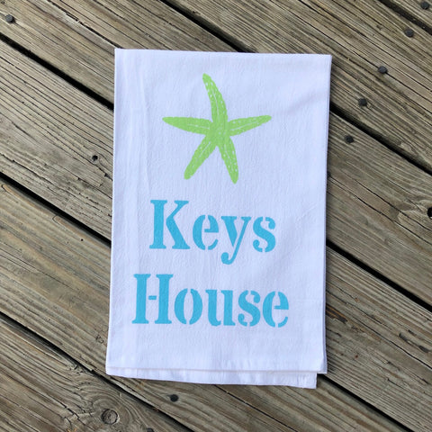 Islamorada Tea Towel - Keys House
