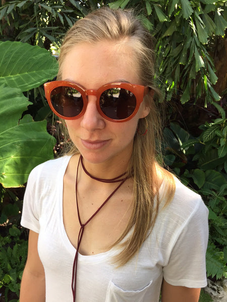 Rust Sophia Sunglasses