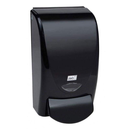 DebDeb Black Soap and Sanitizer Dispenser