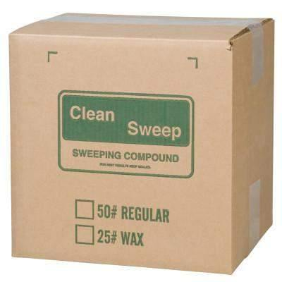 Clean Sweep S4065 Green Wax Based Sweeping Compound Non