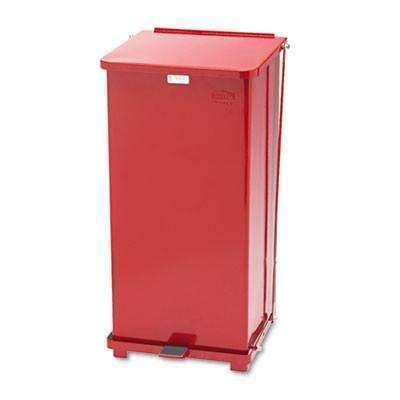 Janitorial Superstore24 gal Rubbermaid Commercial Prod. Defenders Biohazard Step Can, Square,