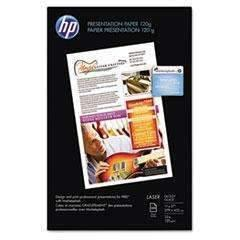 Janitorial Superstore HEWLETT PACKARD COMPANY Color Glossy Laser Presentation Paper, 95 Brightness, 34lb, 11 x 17, White, 250/Pack - Janitorial Superstore