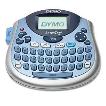 Janitorial Superstore DYMO® LetraTag 100T Label Maker, 2 Lines, 6 7/10w x 2 4/5d x 5 7/10h - Janitorial Superstore