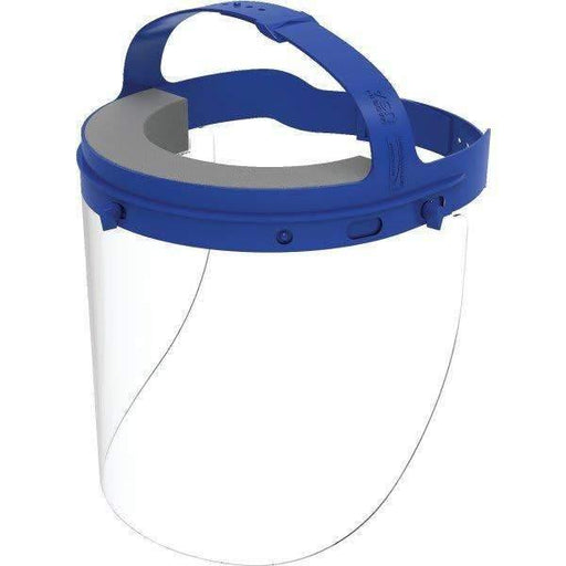 Suncast Commercial Suncast Commercial Protective Reusable Face Shield With Adjustable Headgear - Janitorial Superstore