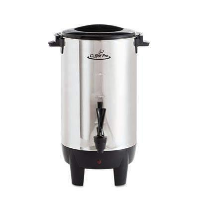 Janitorial Superstore RDI USA 30-Cup Percolating Urn, Stainless Steel - Janitorial Superstore