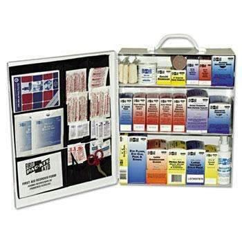 Janitorial SuperstorePac-Kit® Industrial Station First Aid Kit, 440 Items, Metal Case