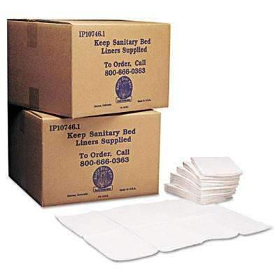 Janitorial SuperstoreKoala Kare KB15099 Baby Changing Station Sanitary Bed Liners, White (Case of 500)