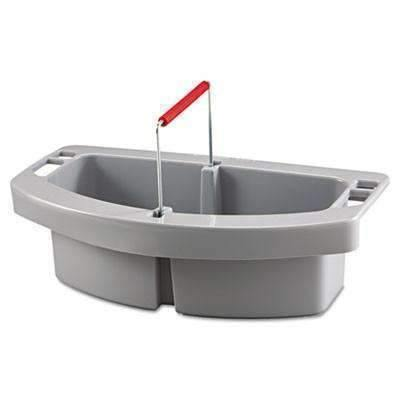 Janitorial SuperstoreRubbermaid Commercial RCP 2649 GRA Maid Caddy, 2-Comp, 16 Width x 9 Depth x 5 Height, Gray