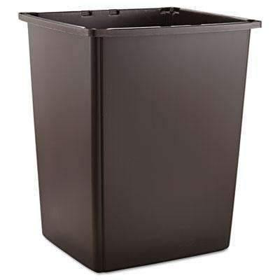 Janitorial SuperstoreRUBBERMAID COMMERCIAL PROD. Glutton Container, Rectangular, 56gal, Brown