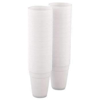 Janitorial SuperstoreSOLO® Cup Company Plastic Medical & Dental Cups, 5 oz, White, Fluted, 1000 Cups/Carton