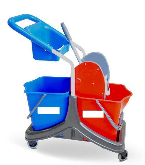 Janitorial Superstore Double Bucket & Cart Wringer - Janitorial Superstore