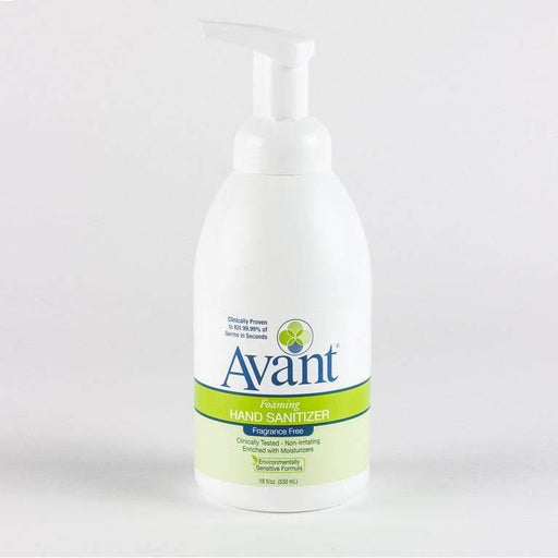 Avant Avant Premium Foaming Fragrance-Free Instant Hand Sanitizer, 18 oz - Janitorial Superstore