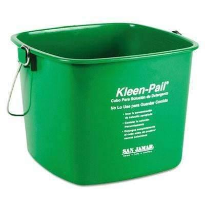 Janitorial Superstore The Colman Group, Inc Kleen-Pail, 6qt, Plastic, Green, - Janitorial Superstore