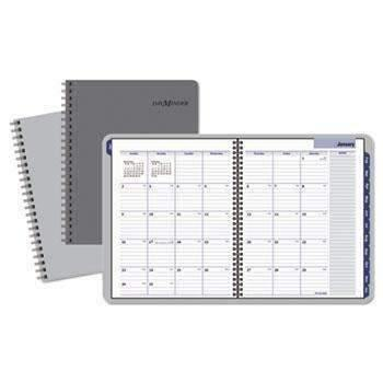 Janitorial Superstore AT-A-GLANCE® DayMinder® Traditional Monthly Planner, 8 1/2 x 11, Gray, 2018 - Janitorial Superstore