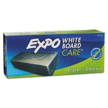 Janitorial Superstore EXPO® Dry Erase Eraser, Soft Pile, 5 1/8w x 1 1/4h - Janitorial Superstore