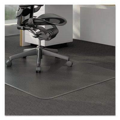 Janitorial SuperstoreUniversal Office Products Studded Chair Mat for Low Pile Carpet, 46 x 60, Clear