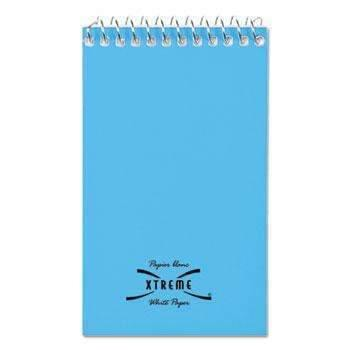Janitorial SuperstoreNational® Wirebound Memo Book, Narrow Rule, 3 x 5, White, 60 Sheets