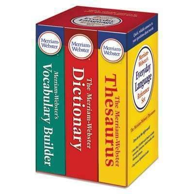 Janitorial Superstore ADVANTUS CORPORATION Everyday Language Reference Set, Dictionary, Thesaurus, Vocabulary Builder - Janitorial Superstore