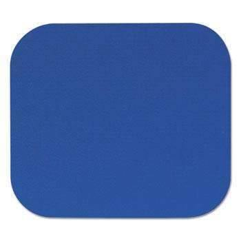 Janitorial SuperstoreFellowes® Polyester Mouse Pad, Nonskid Rubber Base, 9 x 8, Blue
