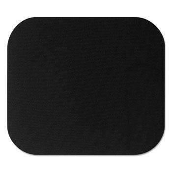 Janitorial SuperstoreFellowes® Polyester Mouse Pad, Nonskid Rubber Base, 9 x 8, Black