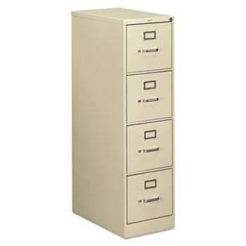 HonHON® 510 Series Four-Drawer, Full-Suspension File, Letter, 52h x25d, Putty
