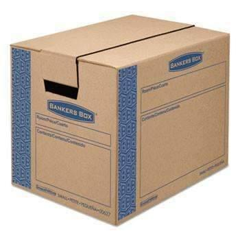 Janitorial SuperstoreBankers Box® SmoothMove Prime Moving/Storage Boxes, 16l x 12w x 12h, Kraft, 10/Carton