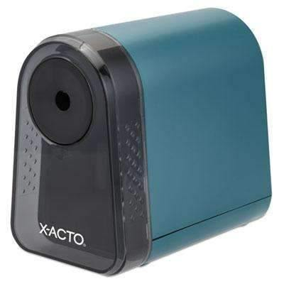 X-ACTOX-ACTO Mighty Mite Home Office Electric Pencil Sharpener, Mineral Green
