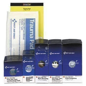 Janitorial SuperstoreFirst Aid Only™ SmartCompliance ANSI Upgrade Refill Pack, 19 Pieces