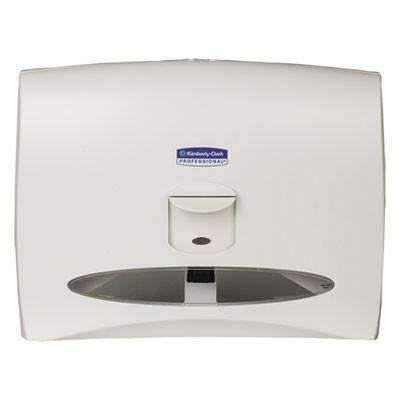 Janitorial SuperstoreKCC09505 - Windows Toilet Seat Cover Dispenser, 17 1/2 X 3 1/4 X 13 1/4, White Pearl by Kimberly Clark