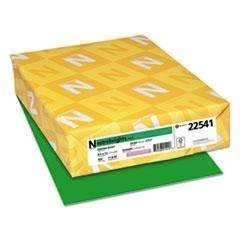 Janitorial SuperstoreNEENAH PAPER Color Paper, 24lb, 8 1/2 x 11, Gamma Green, 500/RM