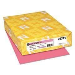 Janitorial SuperstoreNEENAH PAPER Exact Brights Paper, 20lb, 8 1/2 x 11, Bright Pink, 500/RM